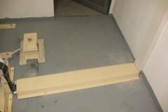 rekonstrukce podlahy strojovny