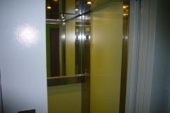 Kabina výtahu Vaněrka